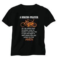 A bikers prayer  funny joke tee shirt suzuki yamaha kawasaki honda harley ducati