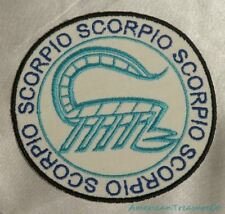 Embroidered Retro Horoscope Astrology Scorpio Scorpion Sign Patch Iron On USA