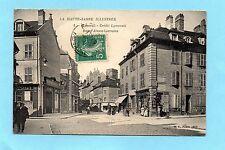 CPA VESOUL CREDIT LYONNAIS RUE ALSACE LORRAINE 1910