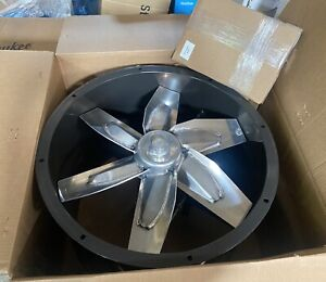 """DAYTON 3C411 24"""" Tubeaxial Fan 26-7/8"""" x 37-1/4"""" for Paint spray booths"""