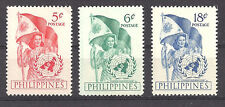 PHILIPPINES , UN , 1951 , UNITED NATION's DAY , SET OF 3  PERF,  MNH