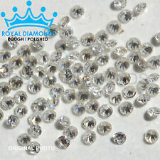 100% Natural Loose Round Single Cut Real 200 Diamonds SI, D-H(White), VG, 0.90MM