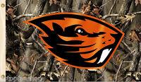 Oregon State Beavers 3' x 5' Flag (Realtree Camo) NCAA Licensed