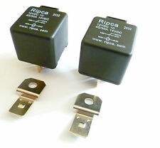 PACK of TWO - 5 Pin automotive type 12volt 30Amp relays            ALT/5P12V30AR