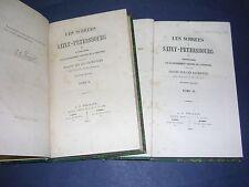 Franc maçonnerie Joseph de Maistre 1862 les soirées de saint pétersbourg reliure