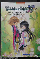 Tales of Hearts Official Complete Guide namco game book