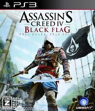 Used PS3  Assassin's Creed 4 Black Flag SONY PLAYSTATION 3 JAPAN JAPANESE IMPORT