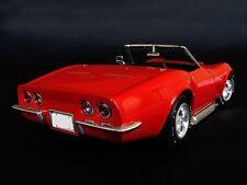 Car 1970 Corvette Chevrolet Sport Race Vintage 1 18 Metal Carousel Red 12 f gp