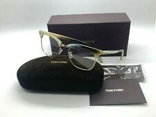 TOM FORD TF 5342 060 BEIGE HORN/GOLD Eyeglasses 51-20-145 ITALY NEW IN BOX