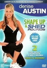 Denise Austin Shape up and Shed Pounds DVD PAL Region 4 Aust Post