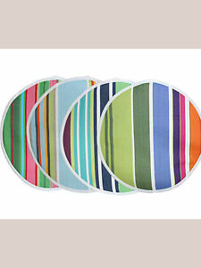 Bright striped pad for Aga / Chef Pad / hob lid cover / Hob lid pad * Made in UK