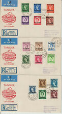 MOROCCO - 1957 DEFINITIVES ILLUSTRATED FIRST DAY COVERS