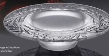 Lalique Berry 14 in Bowl Crystal France Glass Signed Art Frosted BAIES 8 lb MIB