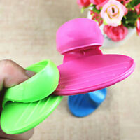 1X Kitchen Dishes Silicone Oven Heat Insulated Finger Glove Mitt Protector Hot v