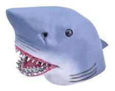 Déguisement Shark Masque Nouveauté Shark Fête Halloween Latex Animal Tête Masque