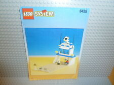 LEGO® System Bauanleitung Space Simulation Station 6455 instruction B888