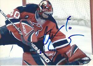 """Scott Clemenssen Autograph 5""""x7"""" New Jersey Devils Picture Panthers"""
