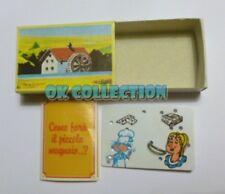 MULINO BIANCO scatolina anni '80_ COME FARA' IL PICCOLO MUGNAIO? (sorpresina 67)
