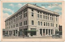 Masonic Temple in Waco TX Postcard