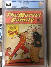 MARVEL FAMILY #26 CGC 6.5 CREAM TO OFF-WHITE PAGES (1948) scarce golden age