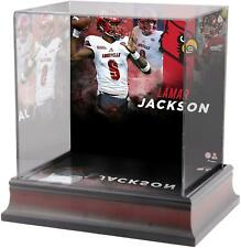 Lamar Jackson Louisville Cardinals Deluxe Mini Helmet Display Case - Fanatics