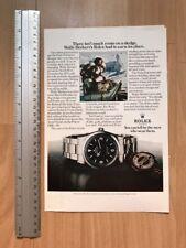 Rolex Explorer I 1016 1974 Advertisement Pub Ad Werbung