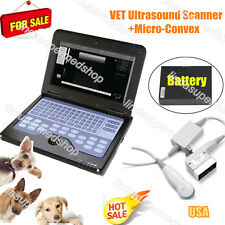Vet Portable Ultrasound Scanner System,Micro Convex Probe,Cat/Dog/Small Animals