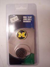 University of Michigan Wolverines Golf Hat Clip Round Ball Mark NEW