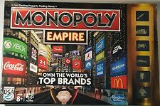Monopoly Empire Board Game Family Game Night Gold Edition w/Tokens New Unopened