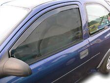 OPEL CORSA B 3 portes 1993-2001 Deflecteurs d'air Déflecteurs de vent 2pcs