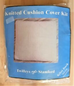 """Knitted cushion cover kit By Twilleys  Suitable for 14"""" - 16"""" pad Velvet Touch"""