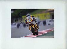 Scott Redding Suter Moto 2 Catalunya GP 2011 Signed Photograph