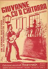 GIUVANNE CU 'A MARSIGLIA. 1958
