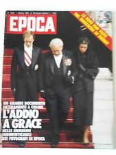 EPOCA_1982_funerali di GRACE KELLY_GRACE DI MONACO_MASSACRO A BEIRUT_