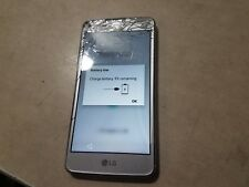 Lg Aristo Lg-M210 16Gb Silver (T-Mobile) as is for parts not fully tested #T44