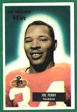 1955 Bowman Football #44 (HOF) JOE PERRY -S.F 49ER'S