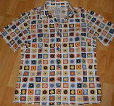 moderne bunte Bluse von USHA Gr 40/42