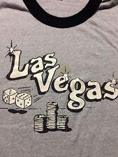 Vintage Las Vegas Shirt Pawn Dice Xl Extra Large Vtg Casino Slot Machine Soft