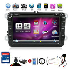 CAN 8'' Autoradio DVD CD BLUETOOTH USB GPS Navi für VW Golf 5 6 EOS Jetta Caddy