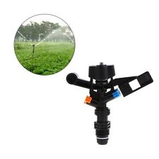 """180 Degree Rotary Garden Lawn Sprinkler Head Irrigation Nozzle Water Hose 1/2"""""""