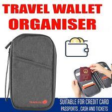 Document Money Passport Large RFID Card Holder Family Travel Wallet Organiser
