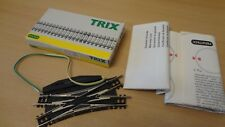Minitrix 14968 Track N Electromagnetic Double-intersection Switch . UNUSED