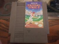 NES Game Cartridge BASEBALL STARS II 2 Good Condition Saves! ROMSTAR.