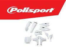 Polisport Motocross Plastic Kit - Yamaha YZF 450 2010 - 2013 All White OEM 90483