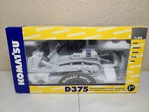 Komatsu D375A Dozer with Ripper - White - First Gear 1:50 Model #59-0218 New!
