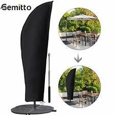 Gemitto Housse de protection pour parasol avec tige et parasol déporté 2 à 4 ...