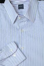 Ike Behar Boy's Lavender & White Stripe Cotton Casual Shirt XL Xlarge