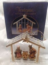 Fontanini Nativity Christmas Ornament Roman Inc. 56173