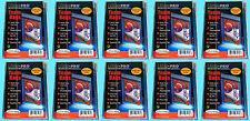 1000 Ultra Pro TEAM SET BAGS Resealable Strip 10 Packs Sports Baseball Sleeves