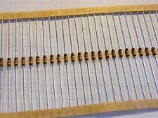 50x 1Ohm 5% 1W Power Metal Film Resistor, Bauform 0207, Serie PR01